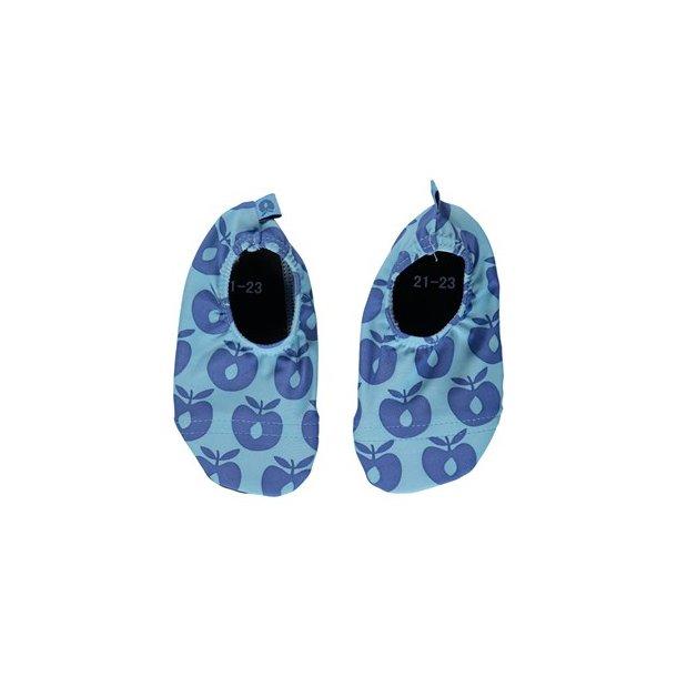 Småfolk swim shoes blå UPF 50+
