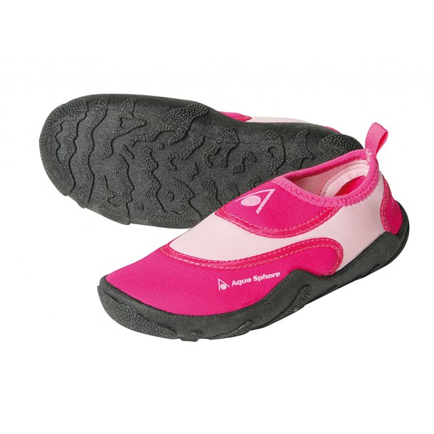Aquasphere badesko pink/lyserød UPF 50+