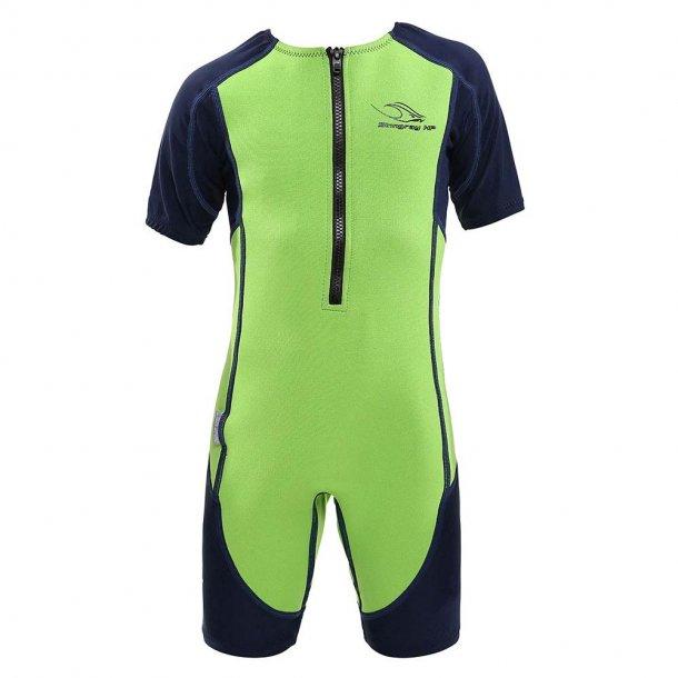 Våddrakt mørkblå/grønn - Stingray