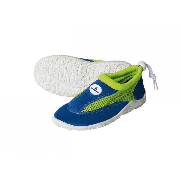Aquasphere badsko blå/grön UPF 50+
