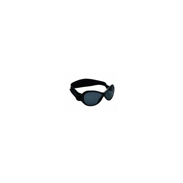 Baby Banz solglasögon Retro Sort - 100 % uv-skydd.