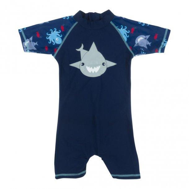 Baby Banz uv dräkt mörk blå UPF 50+