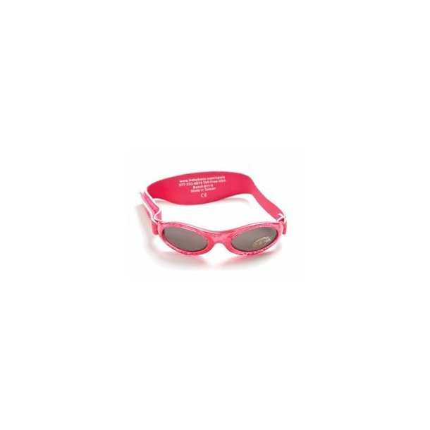 Baby Banz solbrille med justerbar rem fuschia
