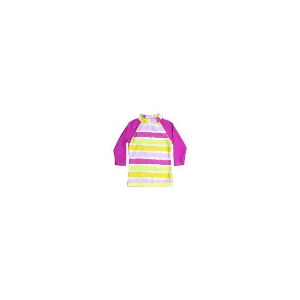 Uv-bluse lange ærmer Baby Banz pink upf 50+