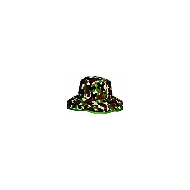 Baby banz camo green reversibel solhatt UPF 50+