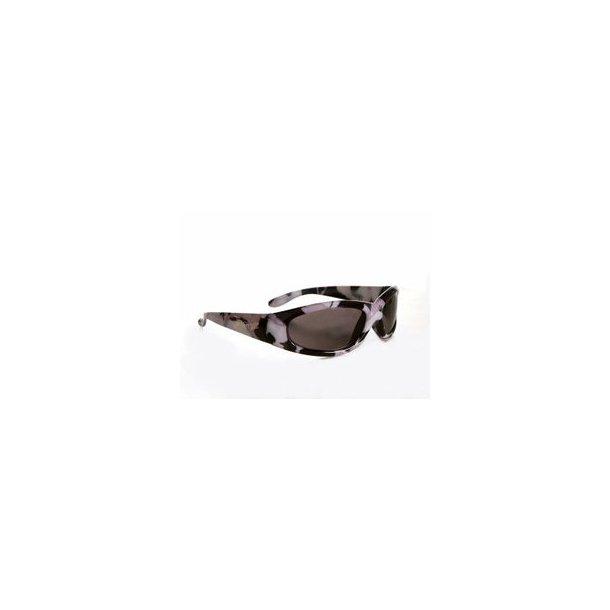 Jbanz solbrille camo grå/sort med 100% uv beskyttelse
