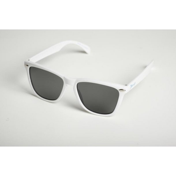 Jbanz solbrille hvid flyer 100% uv beskyttelse