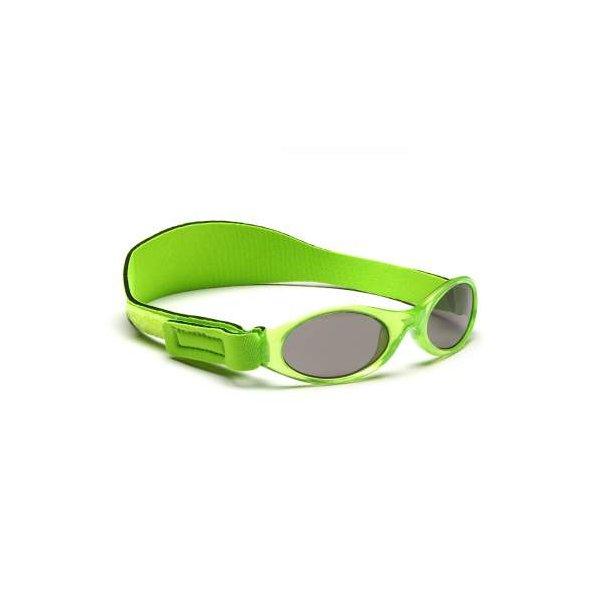 Baby Banz solbrille med justerbar rem æblegrøn