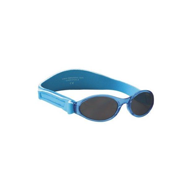 Baby Banz solbrille med justerbar rem aqua blå