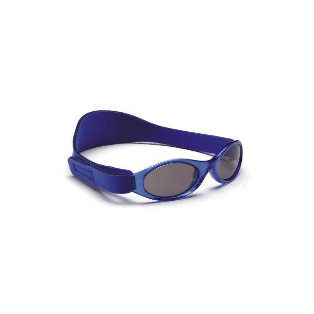 Baby Banz solbrille med justerbar rem blå
