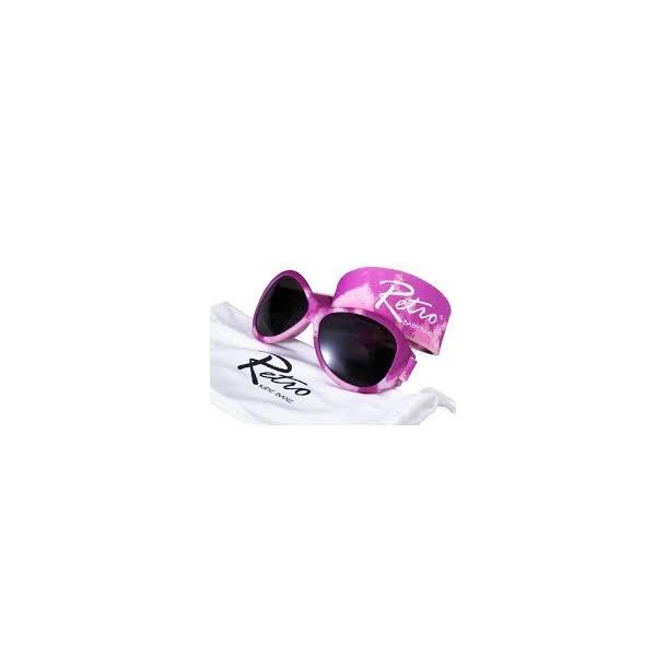 Baby Banz solbrille retro camoflage pink