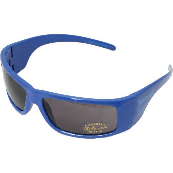 Jbanz solbrille blå med 100% uv beskyttelse