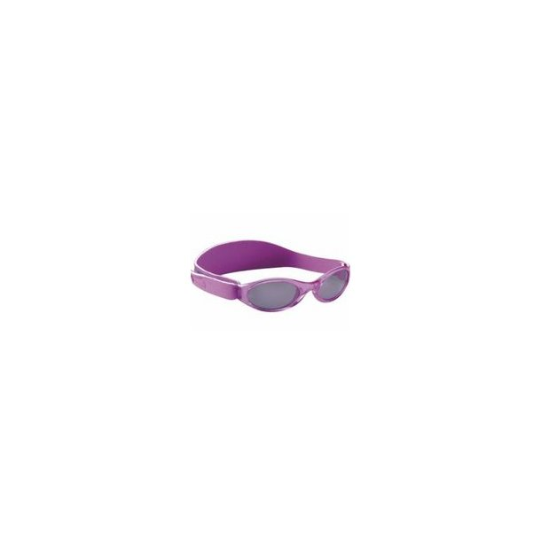 Baby Banz solbrille med justerbar rem lilla