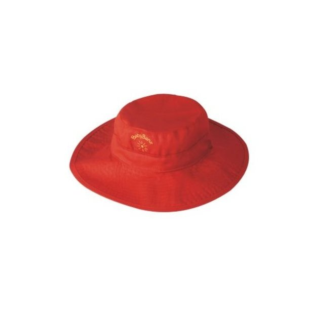 Baby Banz rød vendbar solhatt upf50+