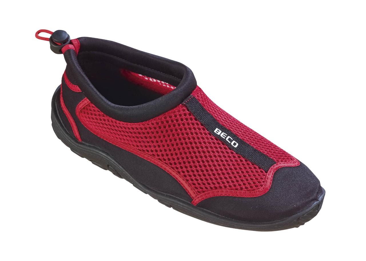 3be3ba07f3c Badesko Beco sort/rød - BADESKO - Smartsunwear ApS