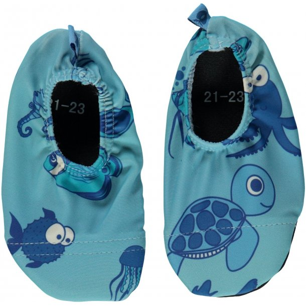 Småfolk swimshoes m/fisk UPF 50+