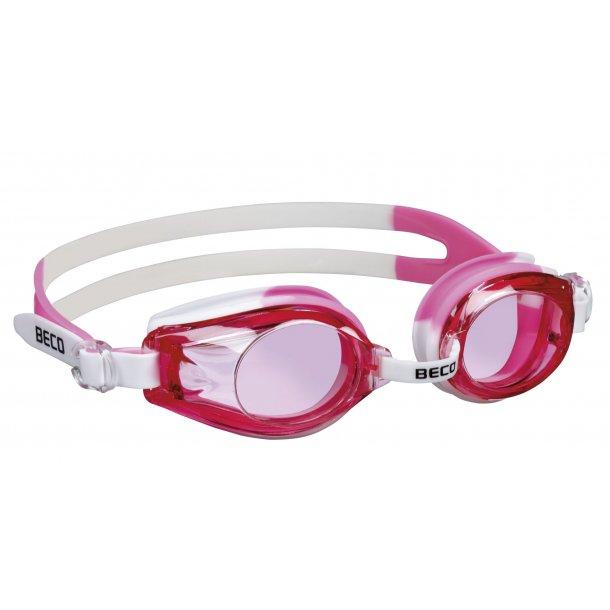 Beco Rimini Svømmebrille pink 100 % uv-beskyttelse