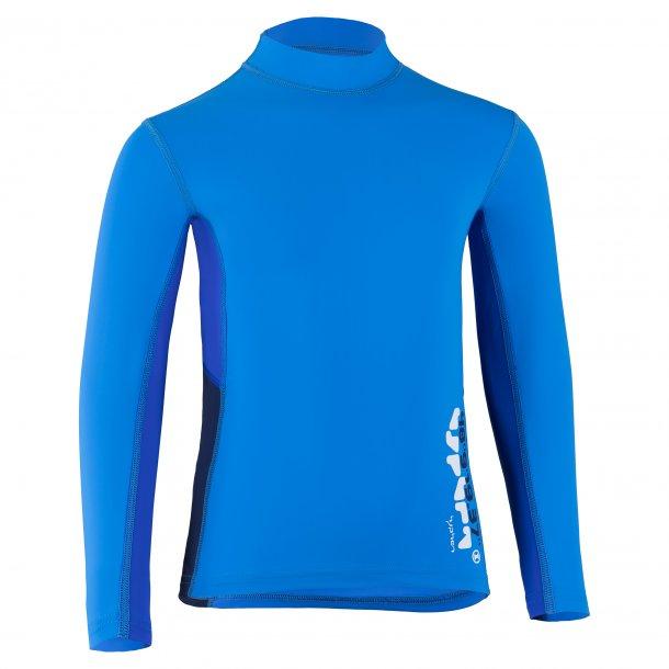 Hyphen langærmet uv bluse koboltblå 'cielo' UPF 80+