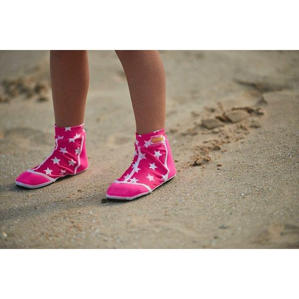 Badestrømper fra Duukies Pink