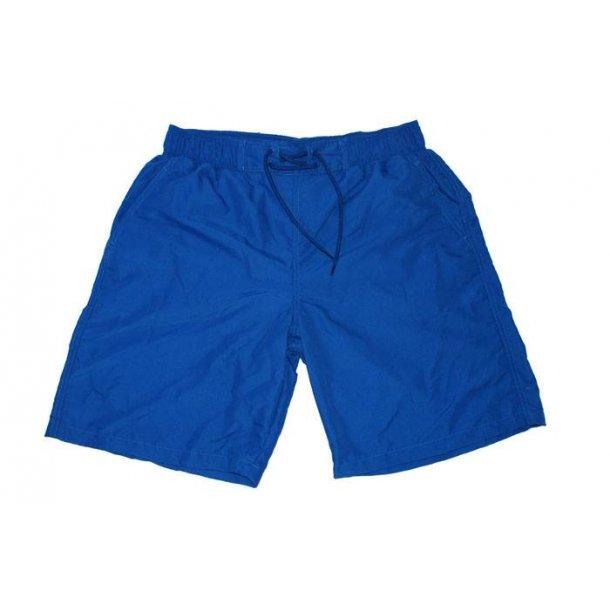 Badshorts blå