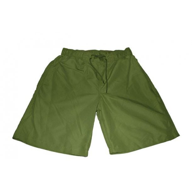 Badeshorts grøn med snøre