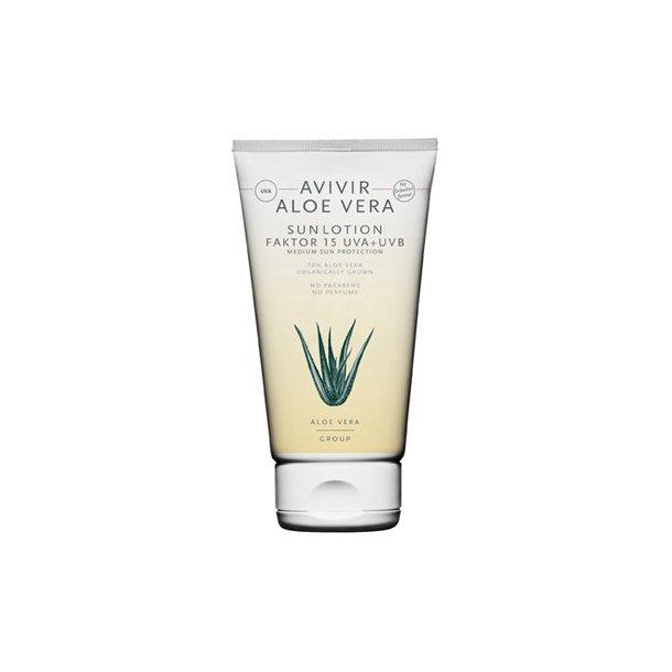 Avivir aloe vera sun lotion faktor 15 - 150 ml