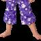 Lyslilla bukser fra hyphen upf 60+