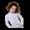 Långärmad lila uv-blus Hyphen UPF 80+
