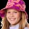 Solhatt fra hyphen upf 60+ rosa med blomster