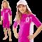 Uv t-shirt upf 80+ fra hyphen pink