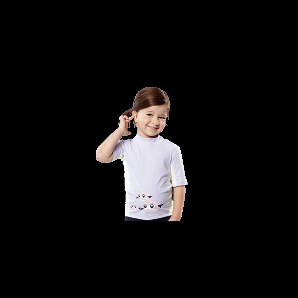 Uv t-shirt upf 80+ fra hyphen lyslilla