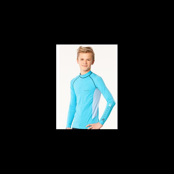 Uv Langærmet bluse upf 80+ fra hyphen turkis