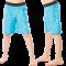 Turkis shorts Hyphen UPF 80+
