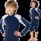Langærmet bluse fra Hyphen UPF 80+ blå