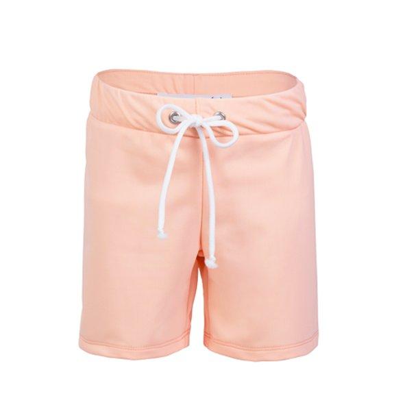 Shorts, korte med resår, Peach