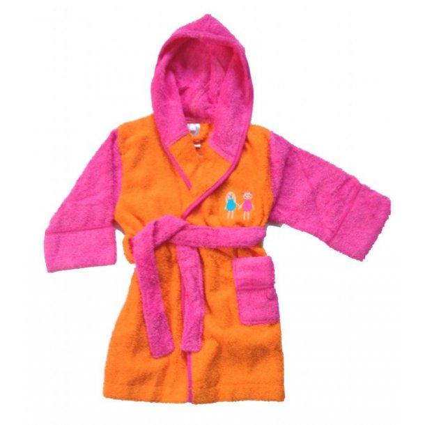 Badekåbe lasarito pink/orange