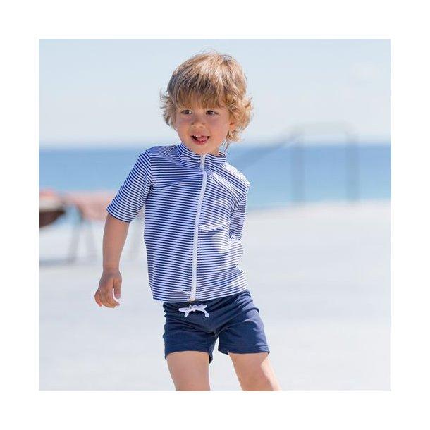 Uv shorts kort blå Petit Crabe UPF 50+