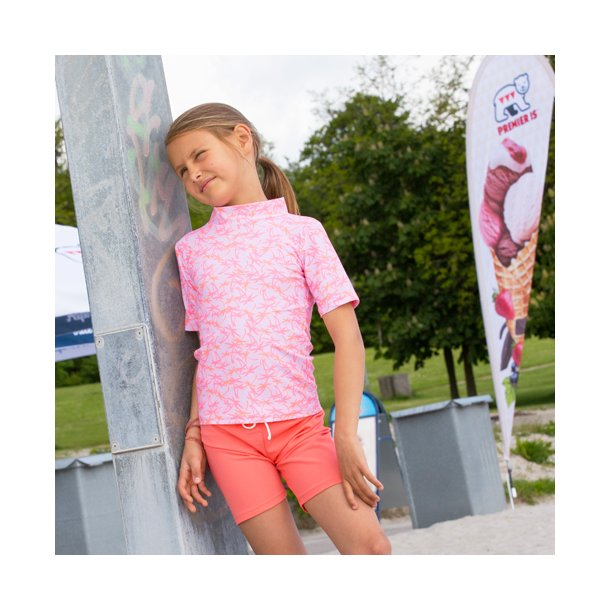 UV Shorts Flamingo Petit Crabe UPF 50+