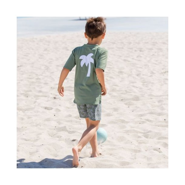 Uv t-shirt army Petit Crabe UPF 50+