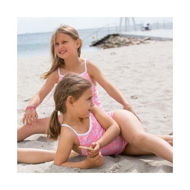 Baddräkt Petit Crabe Girl Palms UPF 50+