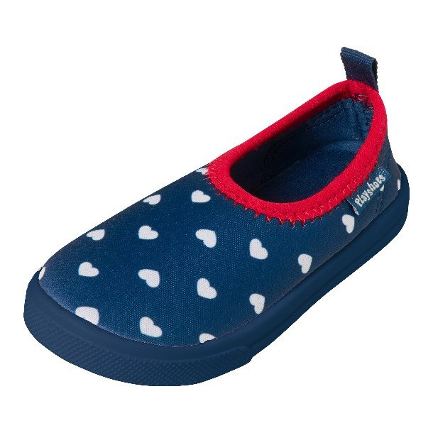 Playshoes sneaker badeskor hjerte UPF 50+