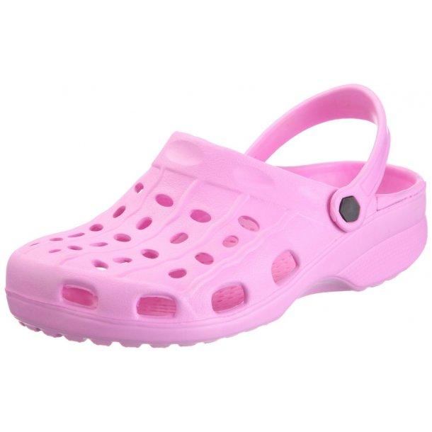 Playshoes lettvekts clogs rosa