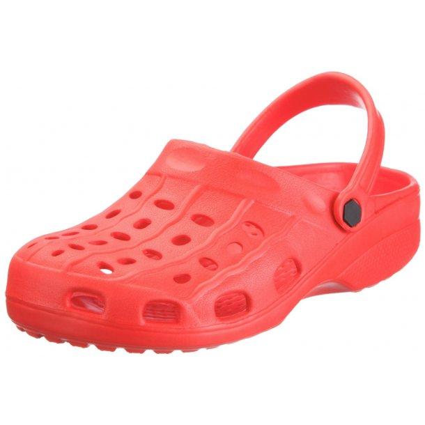 Playshoes lettvekts clogs rød