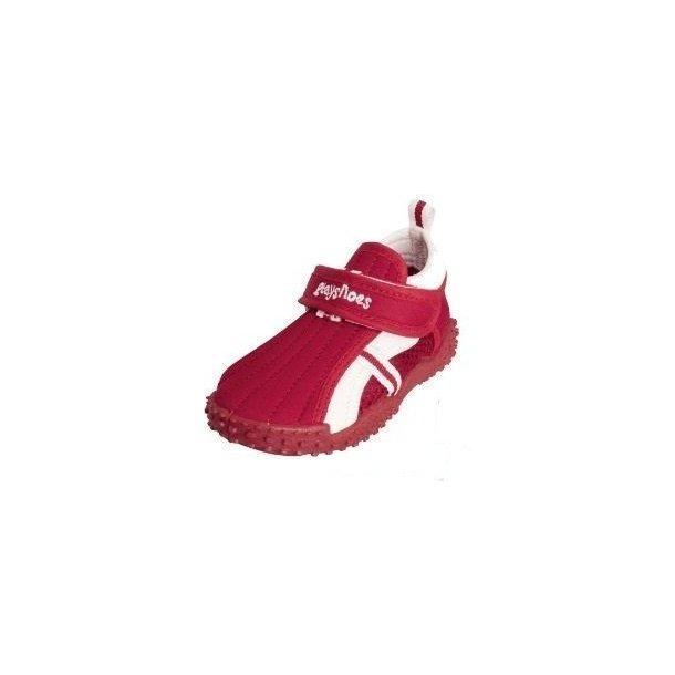 Röda badsko från Playshoes