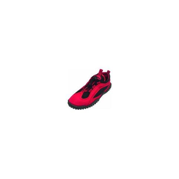 Playshoes badskor röt UPF 50+ STR 36-42