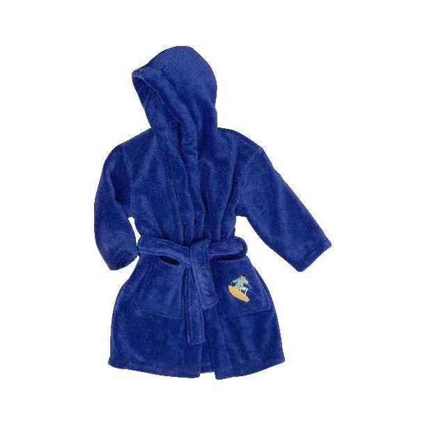 Blå badrock från playshoes