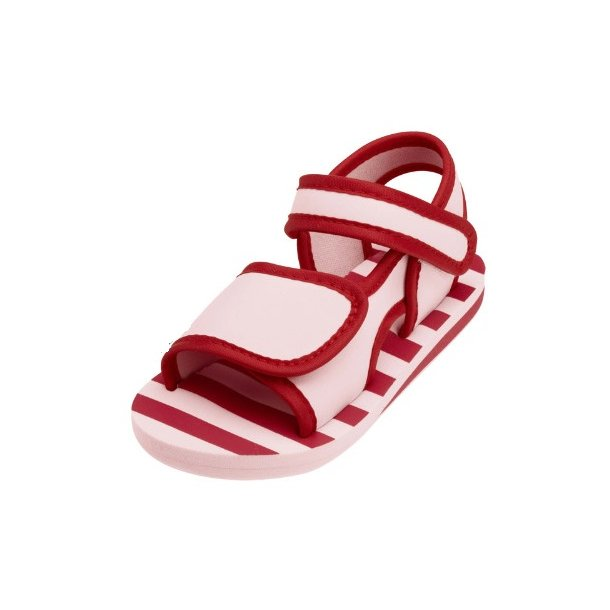 Playshoes badesandaler rød/rosa