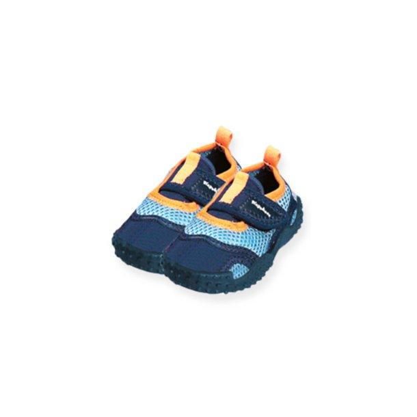 Playshoes badesko lyseblå/navy