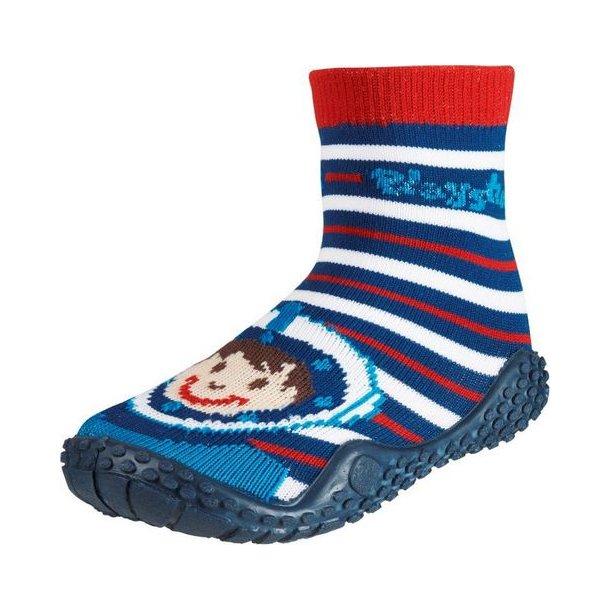 Playshoes badesokker mørkeblå Diver