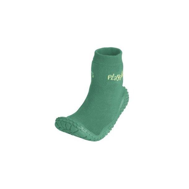 Playshoes badesokker grøn